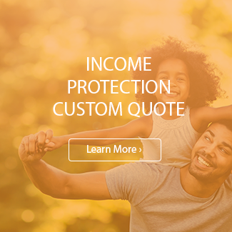 Income protection custom quote service box